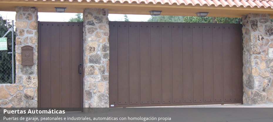 Puertas autom ticas metalboix carpinteria de aluminio for Puertas metalicas malaga